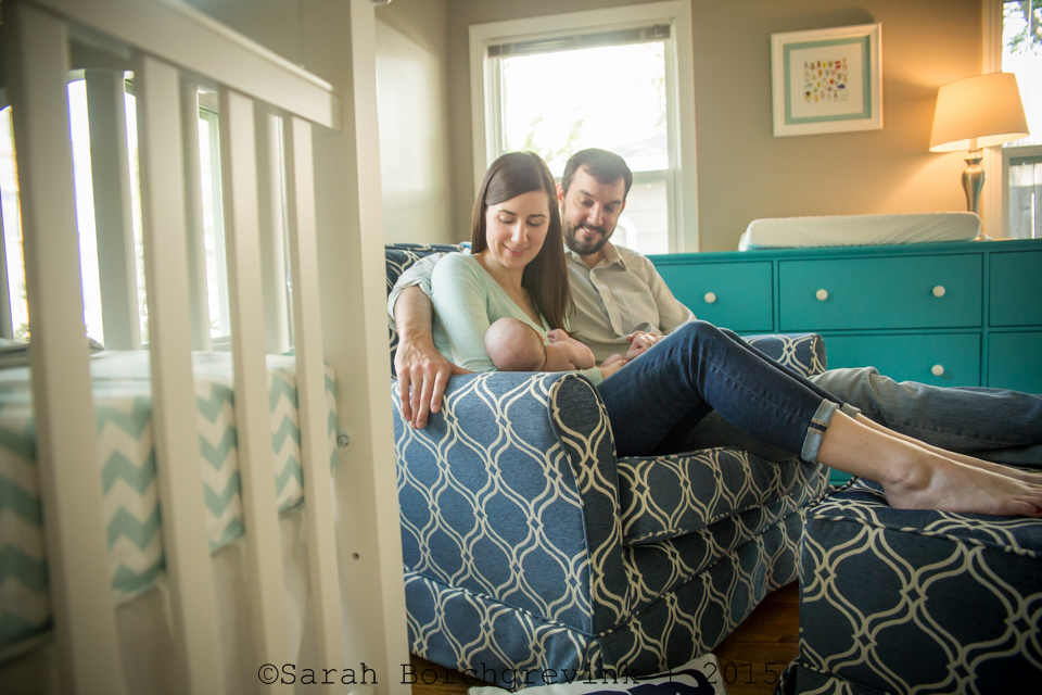 home lifestyle photographer for newborn and family sessions