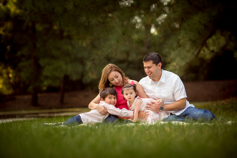 outdoor family fall photography session