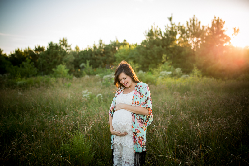 katy maternity photography session