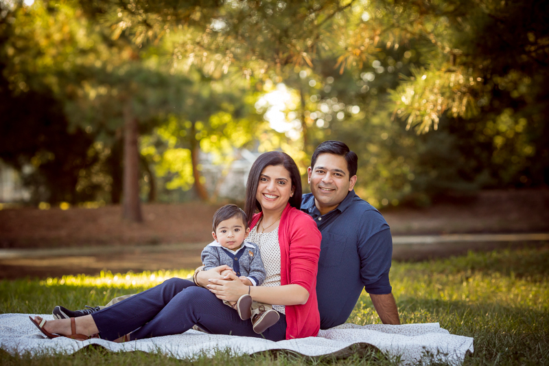 fall family photography session cypress texas