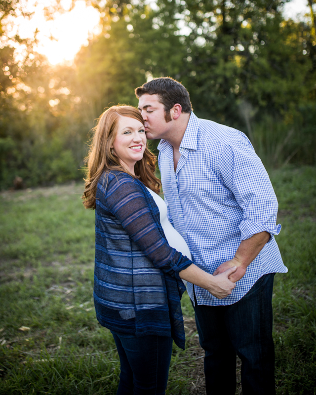 katy tx outdoor maternity session