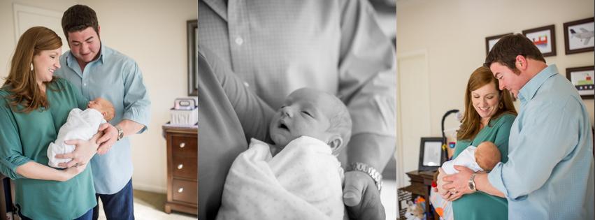 lifestyle newborn session houston texas