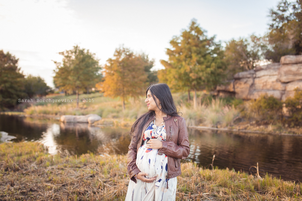 beautiful houston texas maternity photography session
