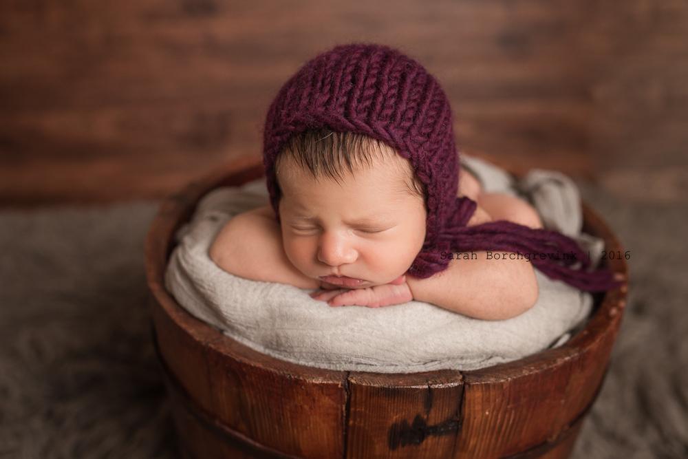 Custom Newborn Portrait Photography in Houston TX