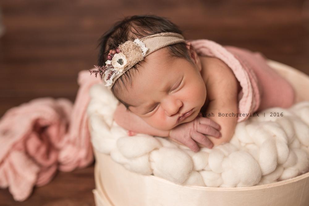 Cinco Ranch Custom Newborn Portrait Photography