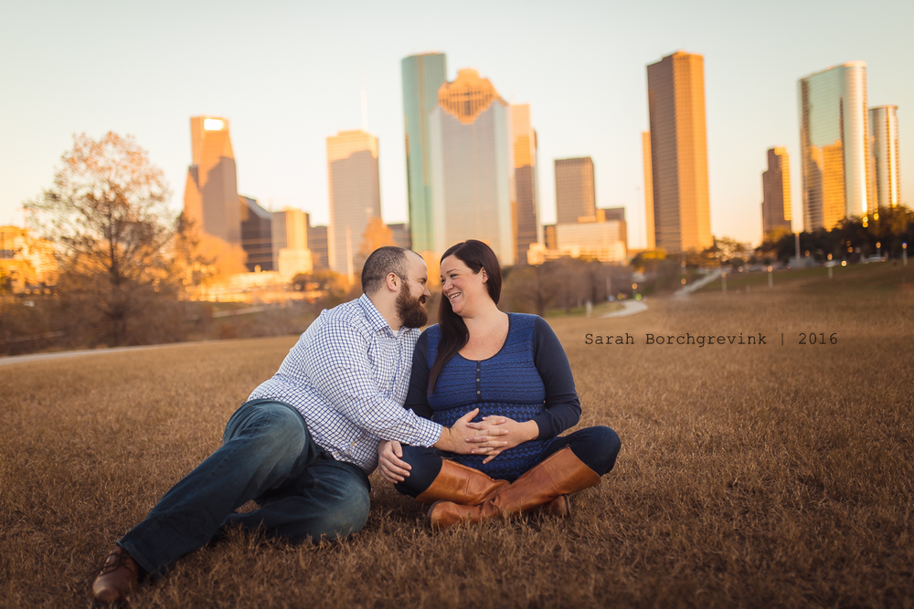 Family Photos in Downtown Houston