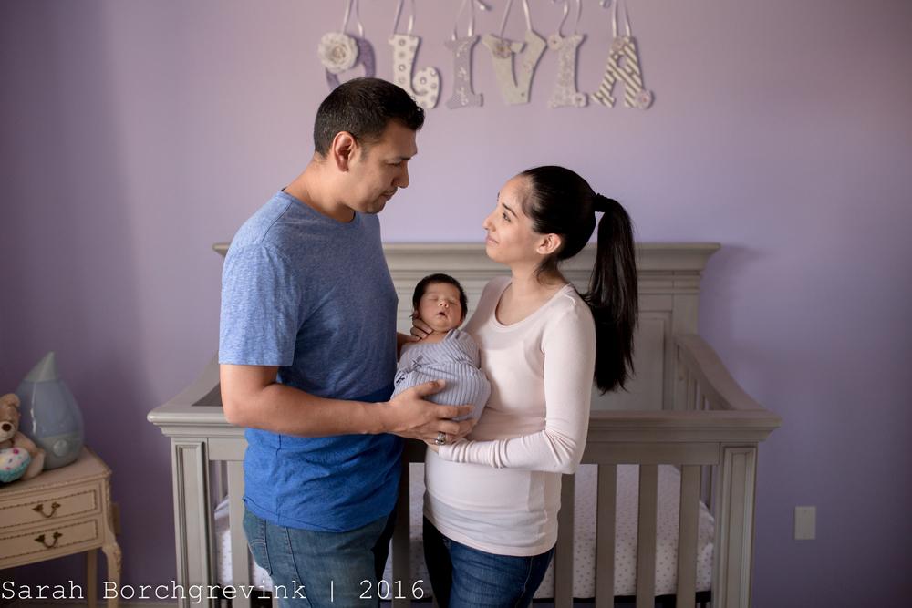 Houston TX Lifestyle Newborn Photography