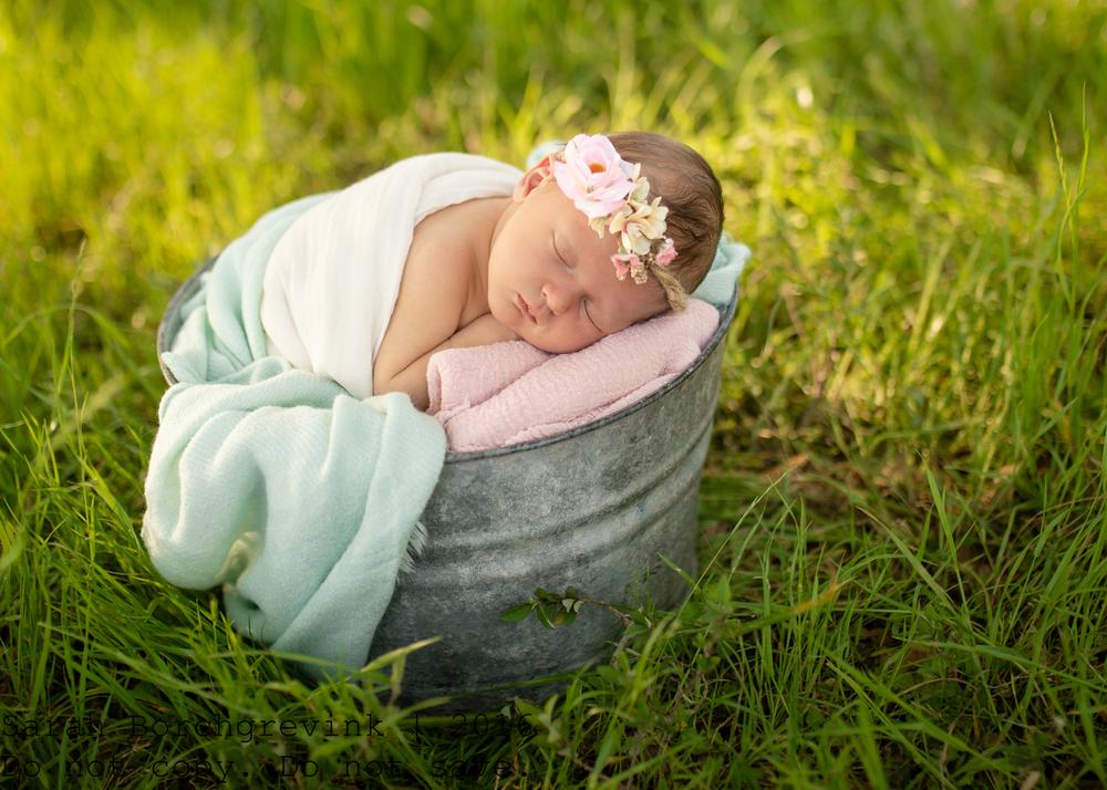 Outdoor Newborn Photography   Houston TX