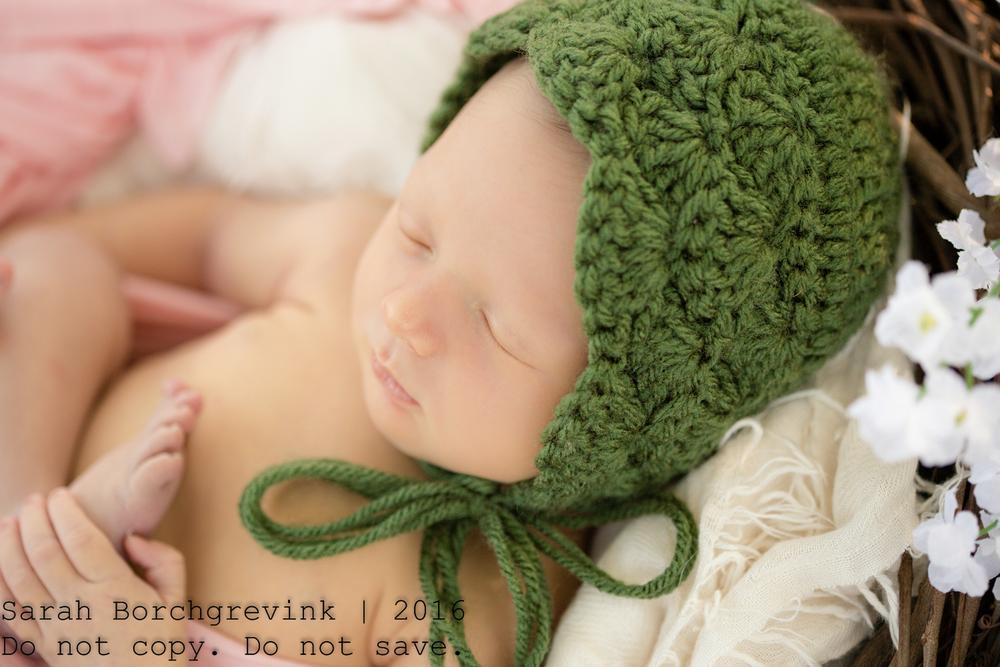 Outdoor Newborn Photography in Cypress