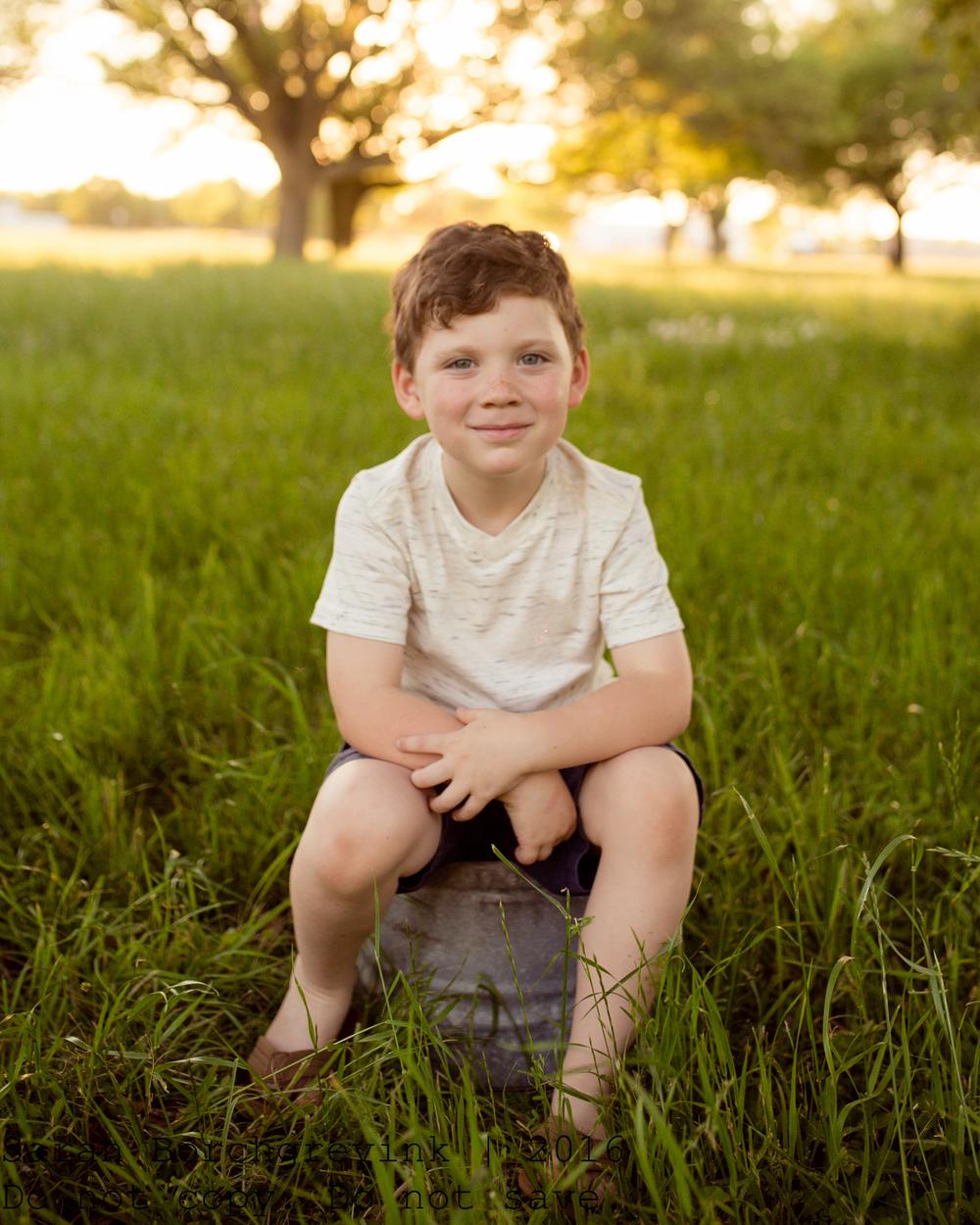 Outdoor Children's Photographer in Spring TX