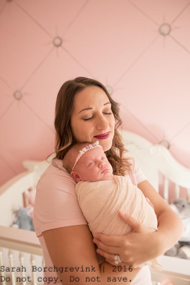 In Home Newborn Photographer Houston