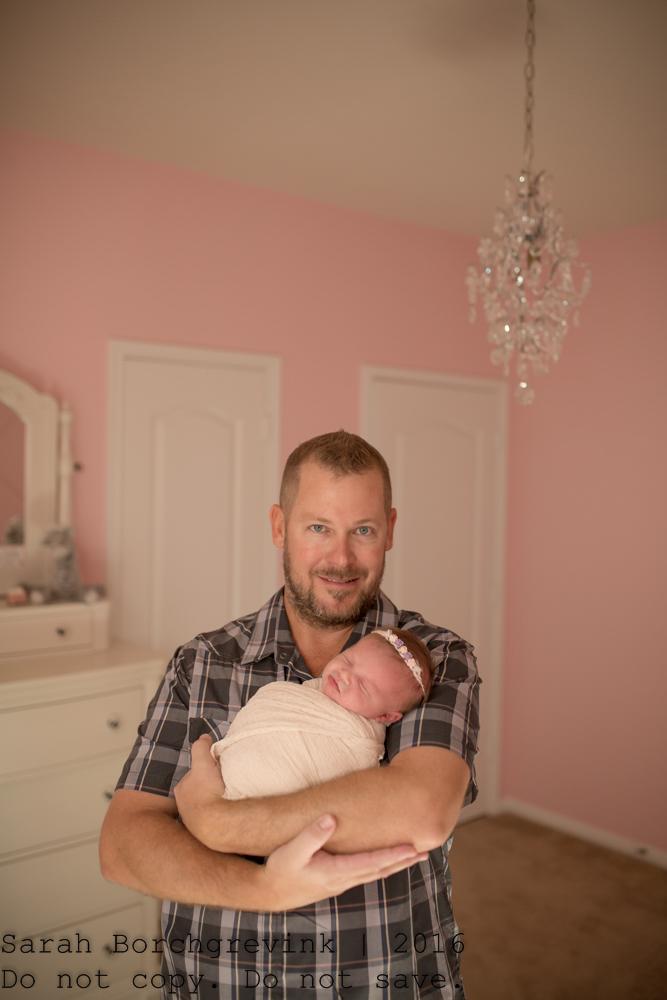 Lifestyle Newborn Photography Houston