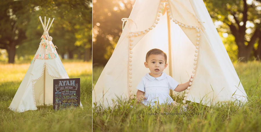 First Birthday Photos | Sarah Borchgrevink