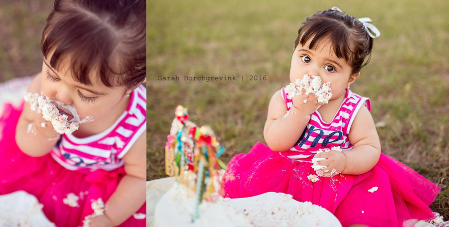 Cake Smash Photographer in Cypress