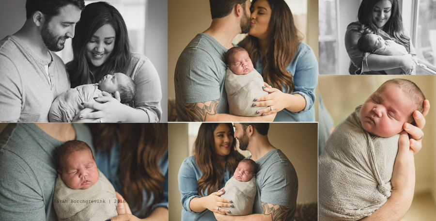 Lifestyle Newborn Photography Spring TX