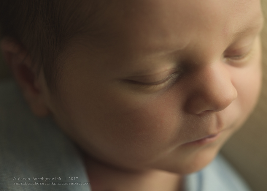 Houston Newborn Photographer in Home