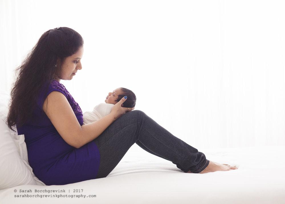 Sarah Borchgrevink Photography | Houston TX Posed Newborn Portrait Photographer