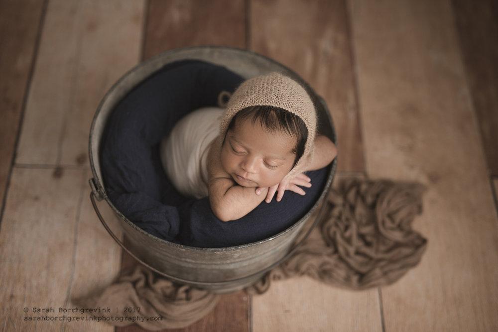 Houston Newborn Photographer In Home | Sarah Borchgrevink