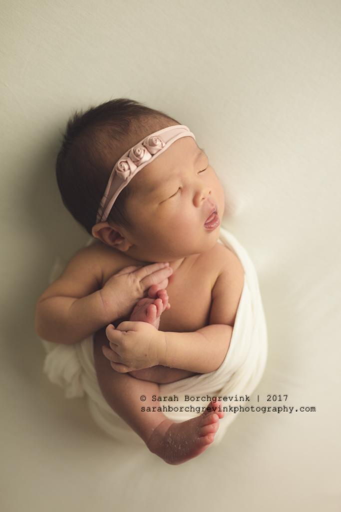 Posed Newborn Photography Houston