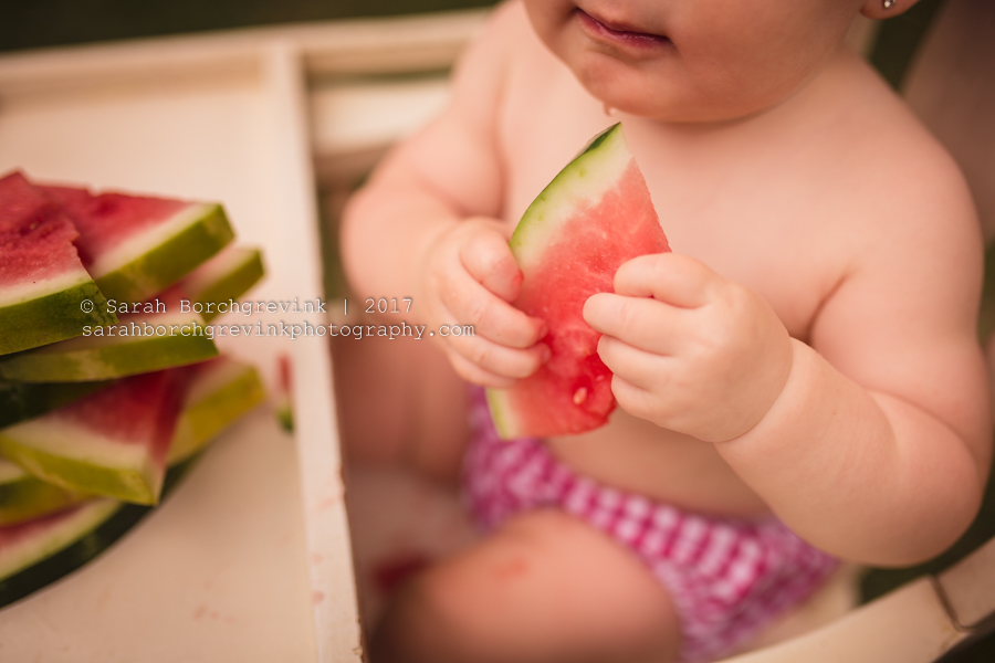 Happy Birthday Watermelon Session by Sarah Borchgrevink