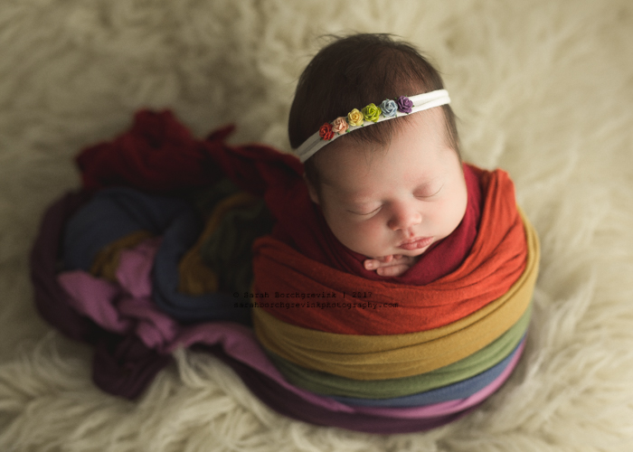 Newborn Rainbow Photos Houston