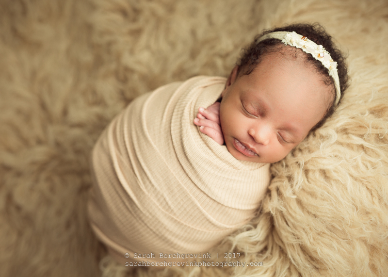 Newborn Girl Session by Sarah Borchgrevink