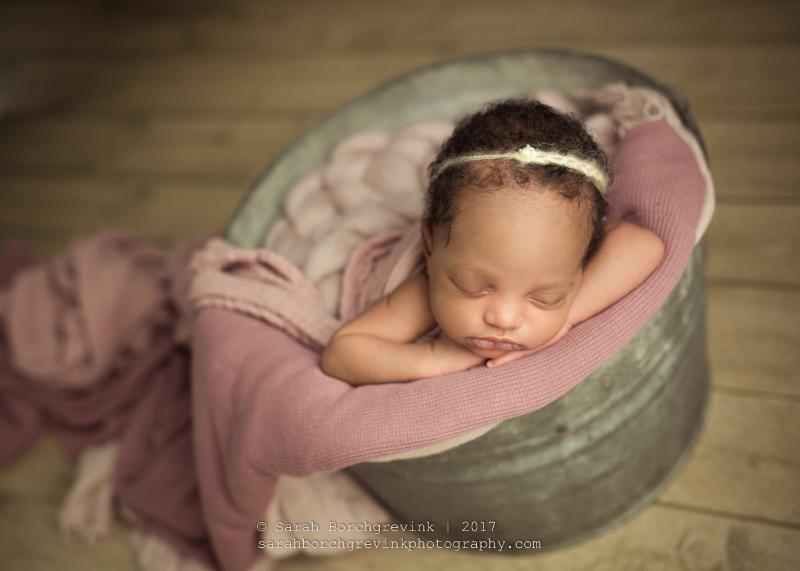 Vintage Newborn Photography Houston Texas