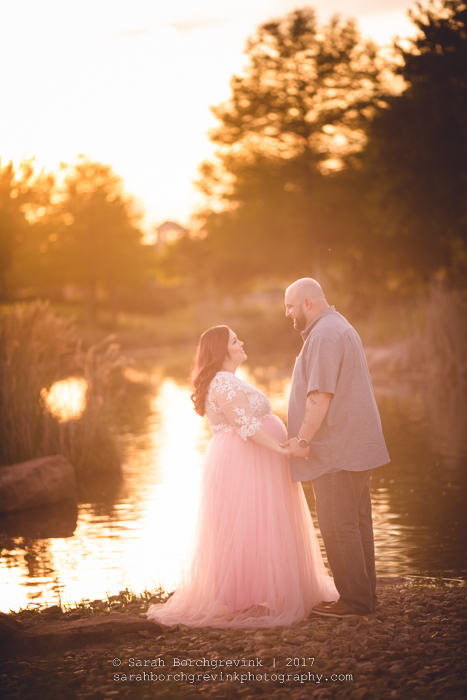 Couples Maternity Session in Houston
