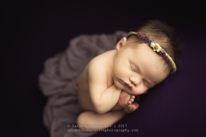 Houston Newborn Portraits by Sarah Borchgrevink