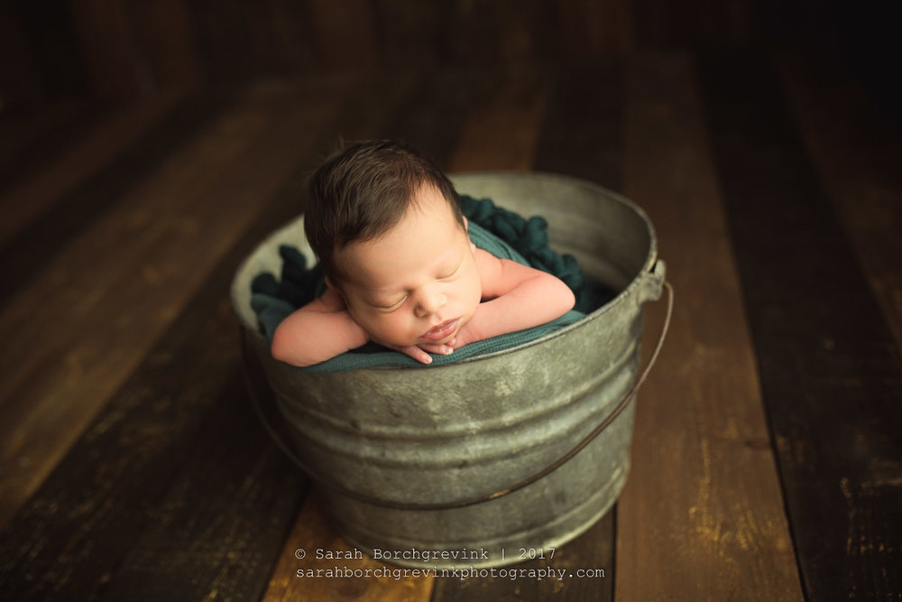 Spring Newborn Photography
