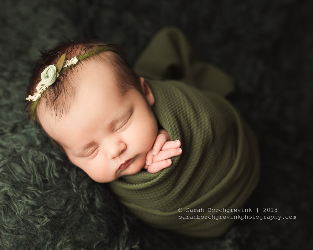 Best wrapping styles for newborn photography