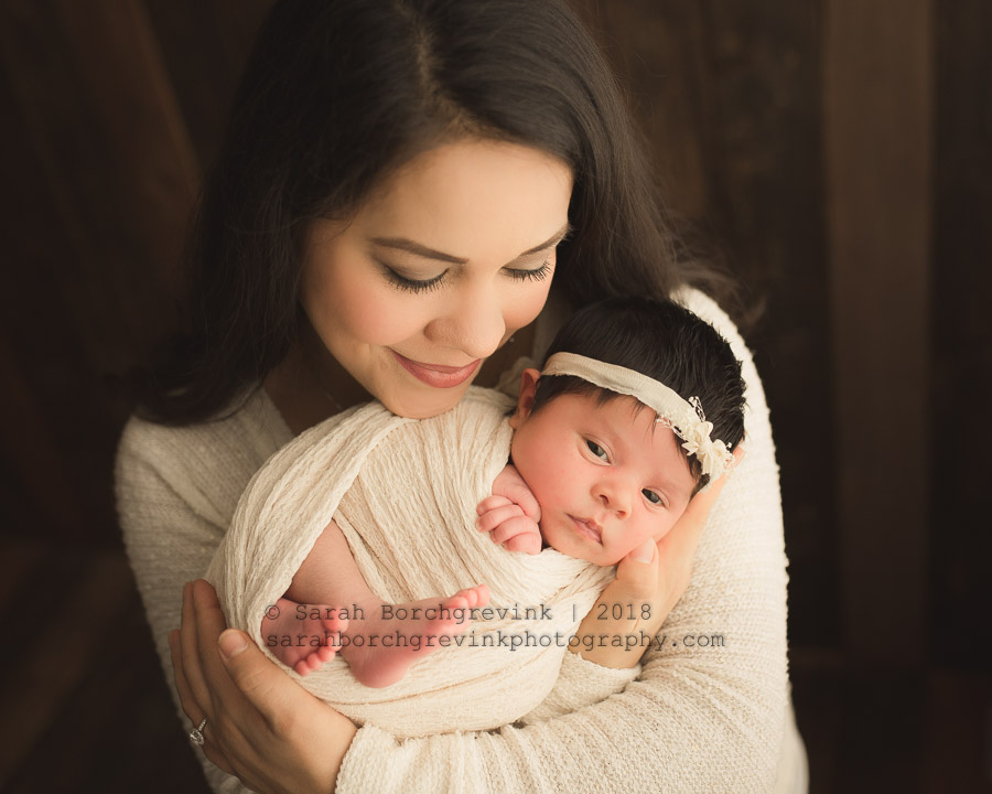 spring newborn photographer