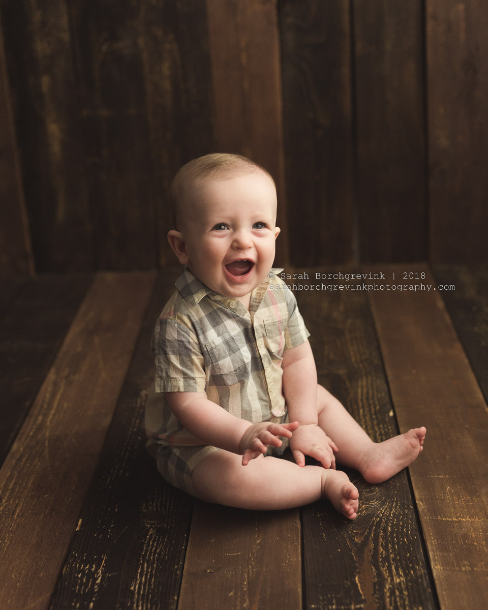 babies first year photography