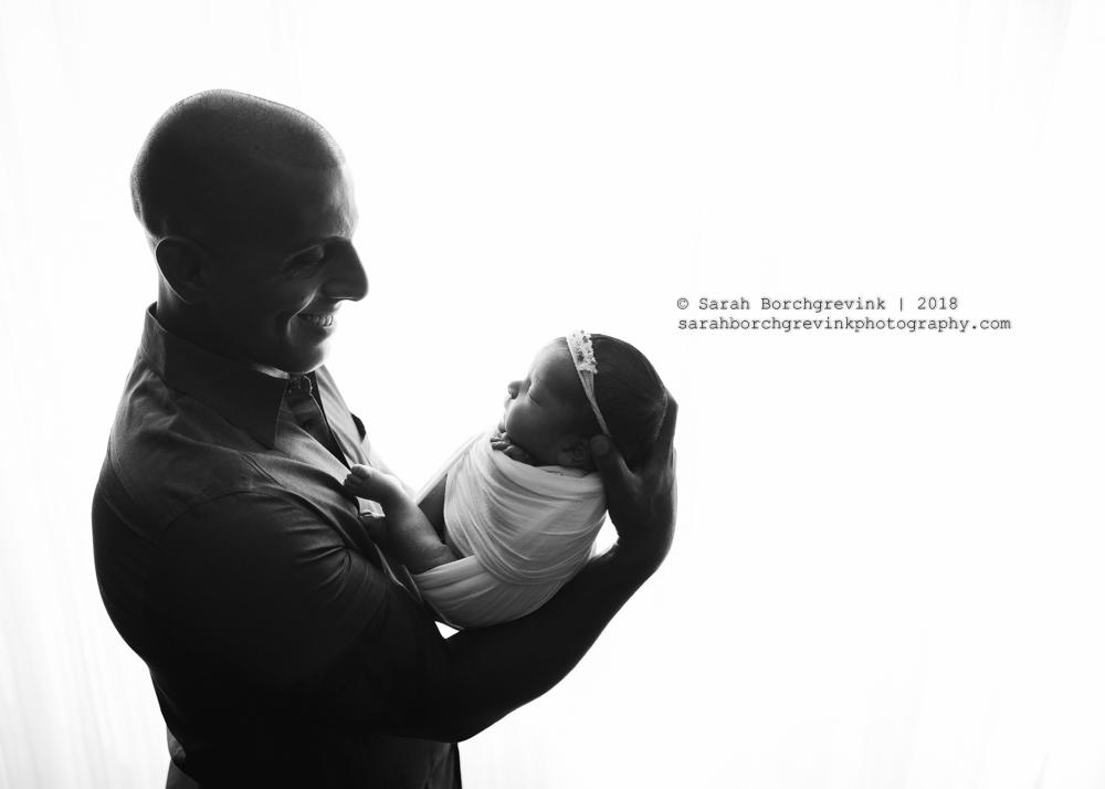 spring newborn photography