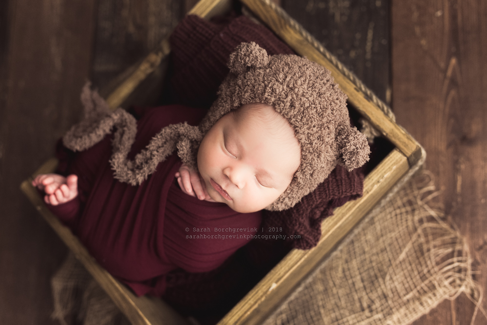book newborn session before baby arrives