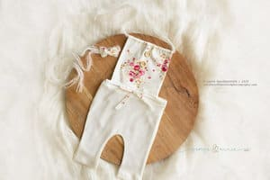 Little sitter romper prop