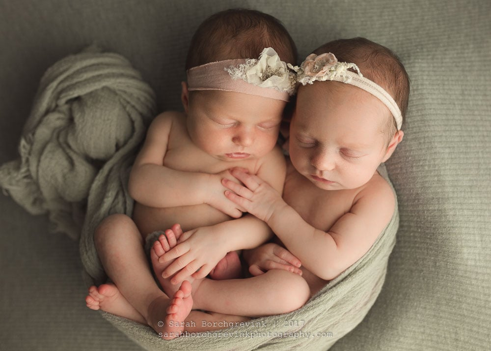 Newborn Twin Photography Houston