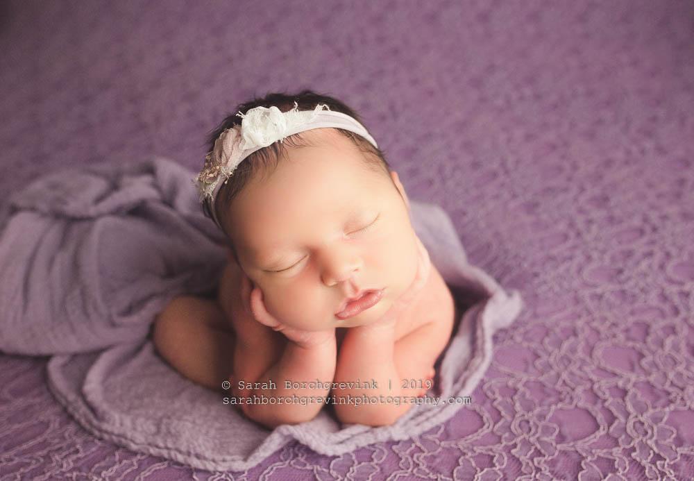 newborn girl photography.