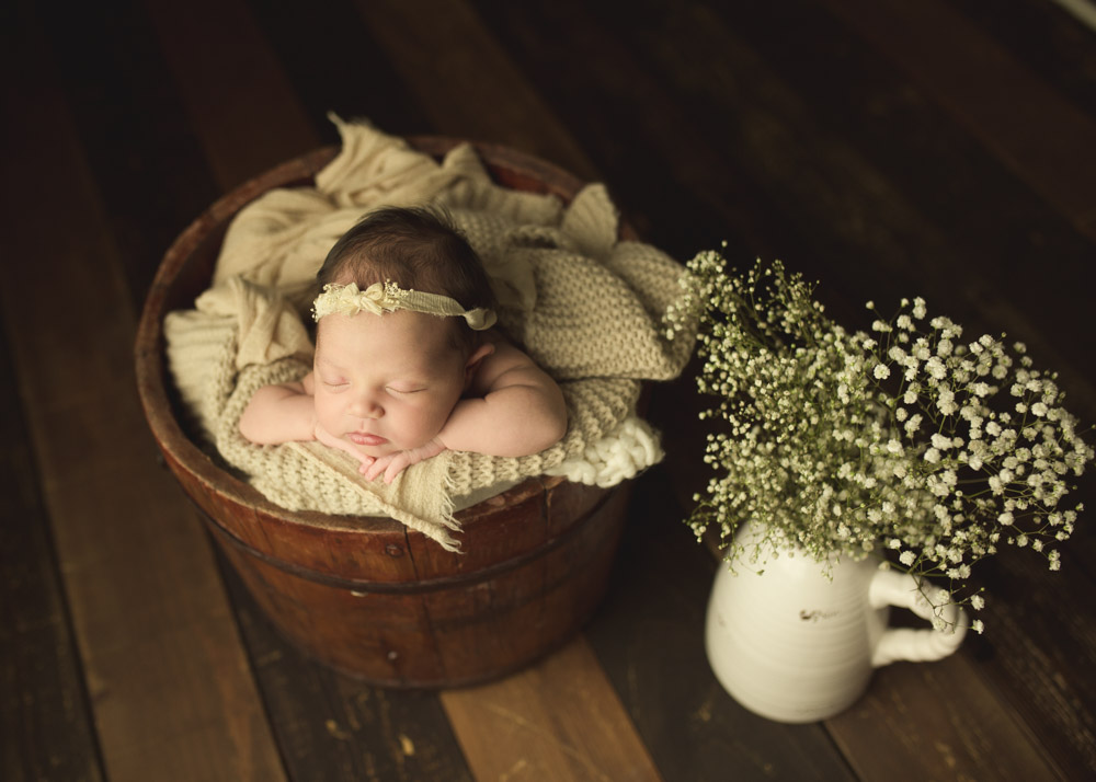 springtime inspired baby photos