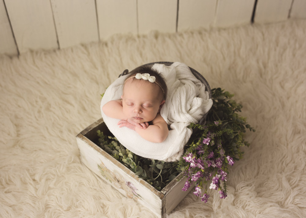 best spring newborn pictures