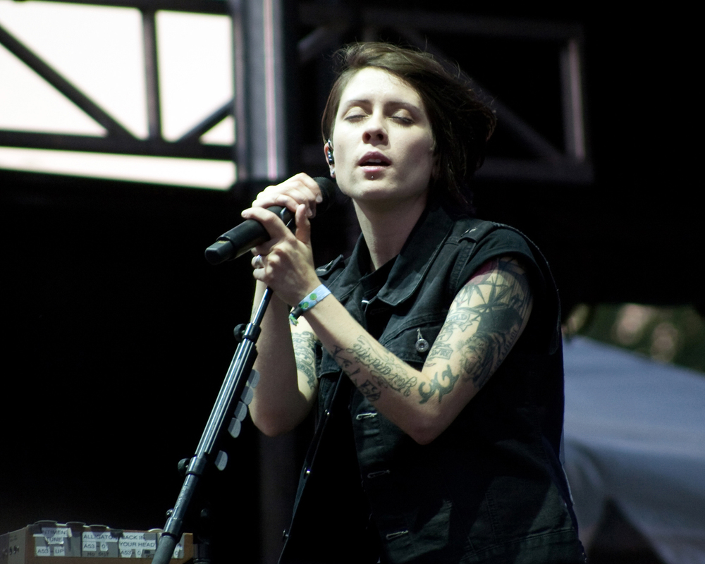 Tegan Quin of Tegan and Sara