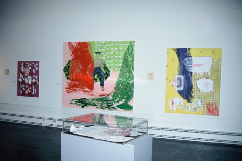 Journals, collaboration with Carol Cooley, BFA exhibition, Allen R. Hite Gallery, University of Louisville, KY, 2004