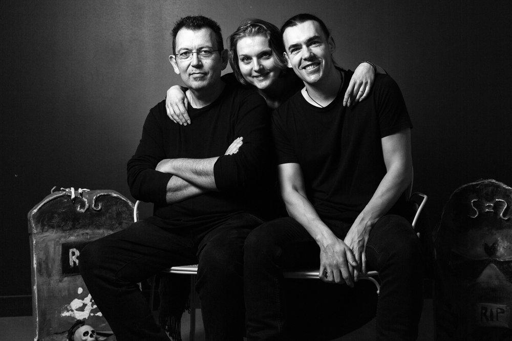 Jean-Luc Bizien, Nathalie Mazzoli et Cédric Sire