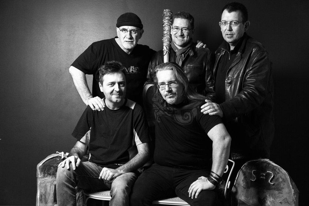 Ian Manook, Nicolas Lebel, Jean-Luc Bizien, Bruno Pocheschi, Francis Malvesin