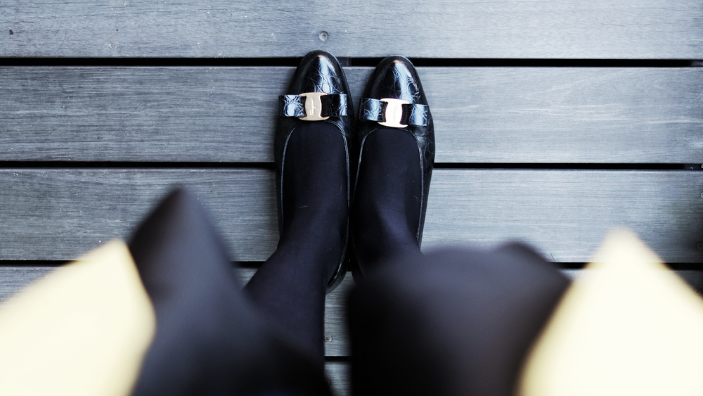 Thrift Day : The Perfect Pair of Black Shoes