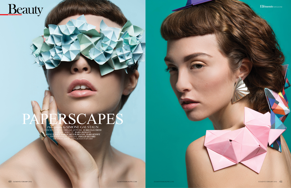 PAPERSCAPES // ELLEMENTS MAGAZINE