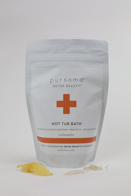 Pursoma Hot Tub Bath — Cake Boutique