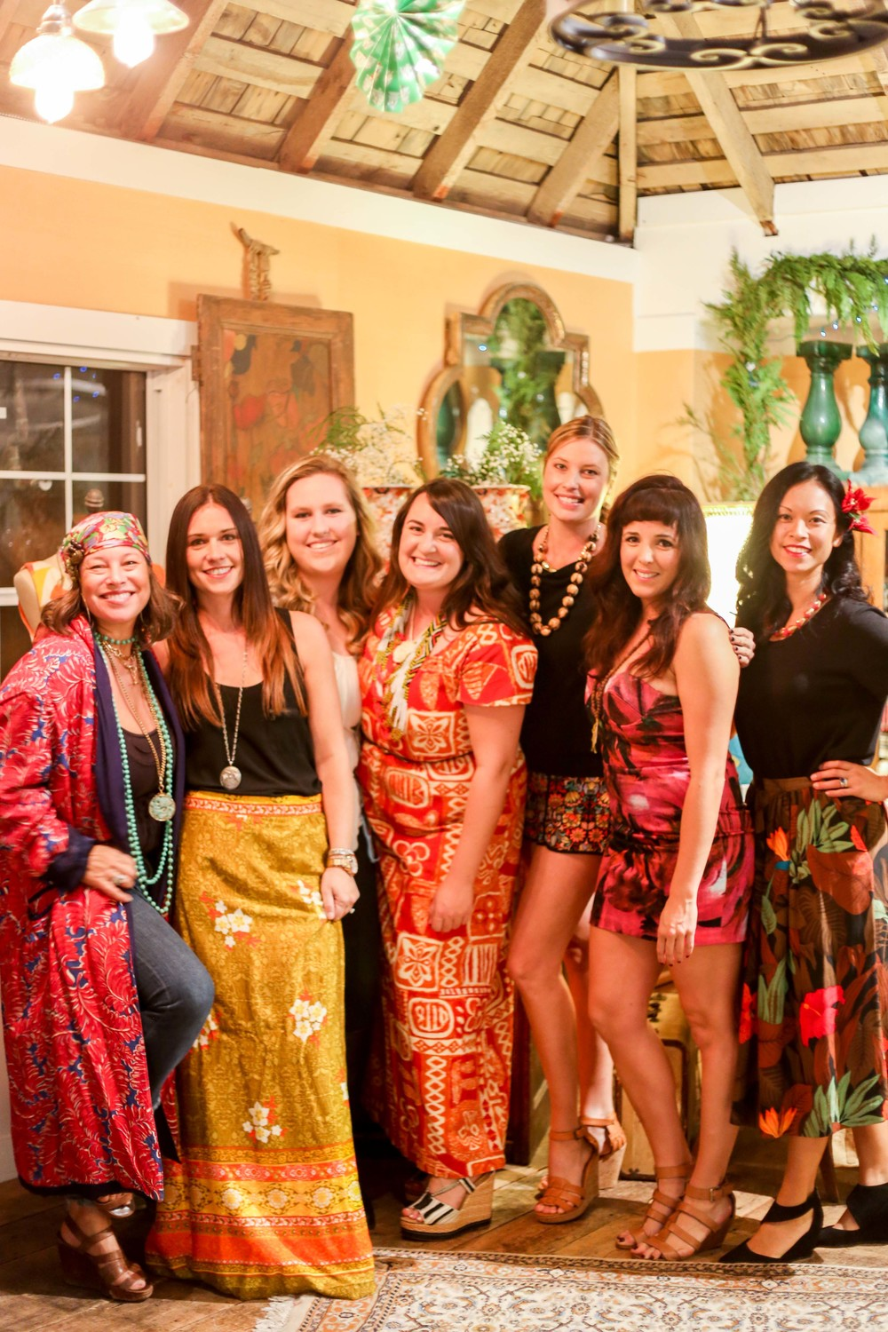 SOURCED. a california collective // Hawaiian Holiday Party