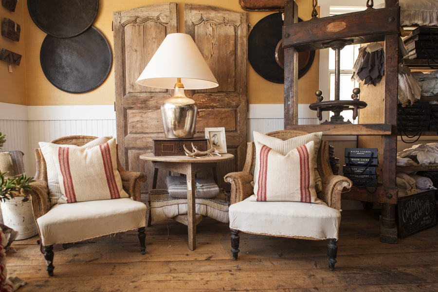 French Antiques from CCH Design at SOURCED. laguna beach