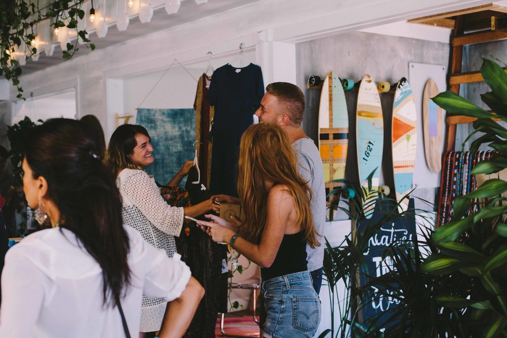 Sourced Artisan Pop Up Market, Laguna Beach